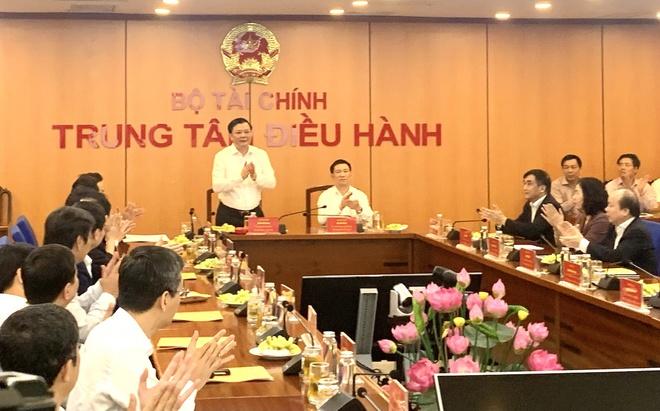 Bàn giao nhiệm vụ Bộ trưởng Bộ Tài chính - Ảnh 1.