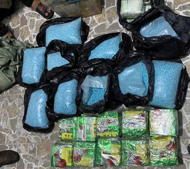 Bộ Công an thông tin có tổ chức ma túy in giả logo Đài Truyền hình Việt Nam gắn vào xe - Ảnh 3.