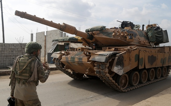 Bất ngờ tấn công Nga, Thổ sẵn sàng đương đầu ở Syria