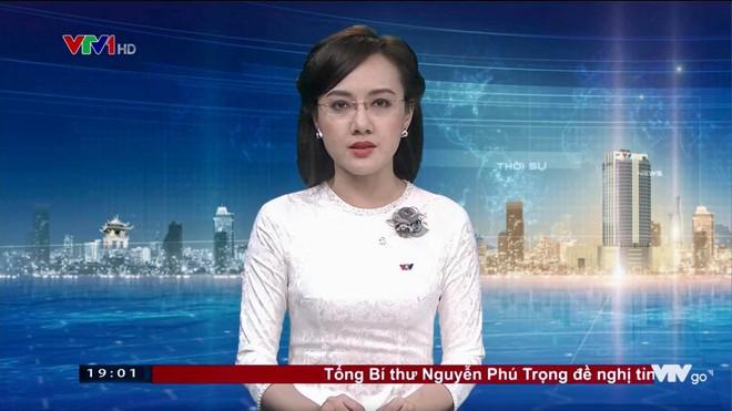 Diện mạo xinh đẹp, lung linh của BTV Hoài Anh mỗi lần lên sóng truyền hình