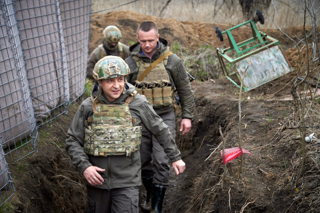 50 tàu chiến Nga ùn ùn áp sát Ukraine, Bộ trưởng Shoigu tuyên bố sẵn sàng chiến đấu - Hải quân Mỹ hãy tránh xa! - Ảnh 2.