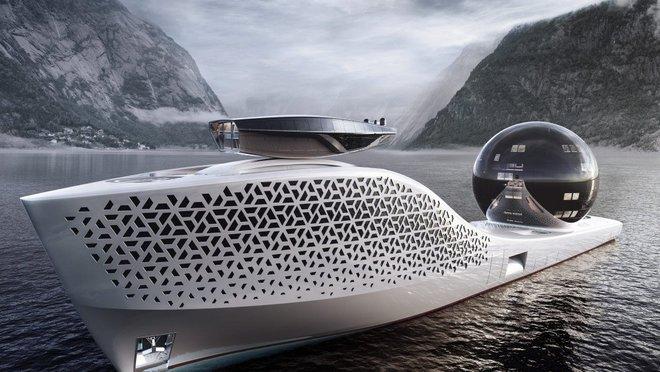 Pháo đài nổi Earth 300: Siêu du thuyền lớn nhất hành tinh sắp làm rung chuyển thế giới Superyacht - Ảnh 3.