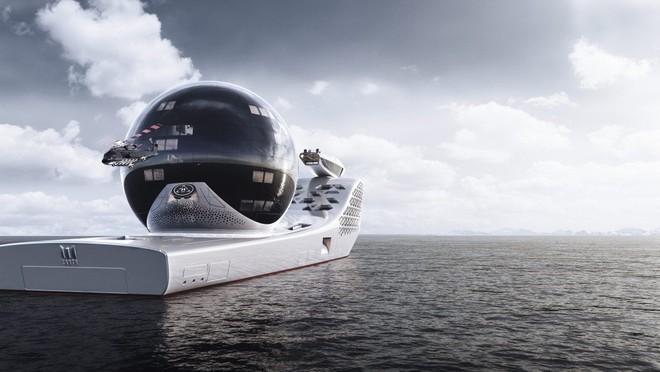 Pháo đài nổi Earth 300: Siêu du thuyền lớn nhất hành tinh sắp làm rung chuyển thế giới Superyacht - Ảnh 4.