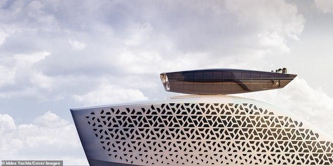 Pháo đài nổi Earth 300: Siêu du thuyền lớn nhất hành tinh sắp làm rung chuyển thế giới Superyacht - Ảnh 8.