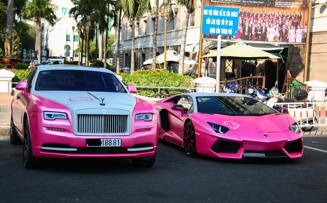 Sở hữu siêu xe Lamborghini, Rolls- Royce màu hồng ấn tượng, bà chủ hãng thảo dược đông y còn có nhan sắc cực phẩm
