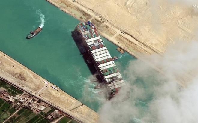 Ai Cập tuyên bố tạm giữ tàu Ever Given, đòi 900 triệu đô la bồi thường