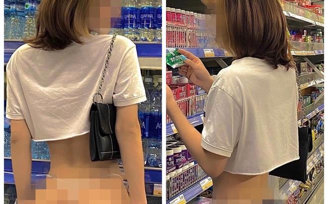 Bị chỉ trích vì khoe vòng 3 giữa siêu thị, cô gái lên tiếng đáp trả: Chỉ là sở thích bình thường
