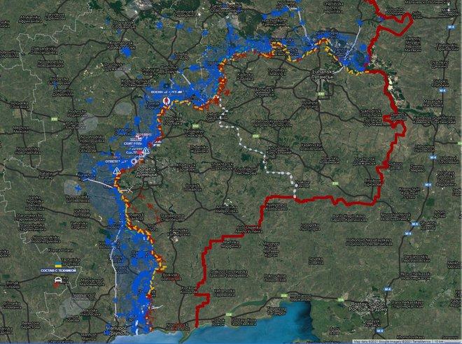 NÓNG: QĐ Ukraine tố tăng pháo quân Nga ùn ùn áp sát giới tuyến Donbass, giờ G đã điểm? - Ảnh 1.