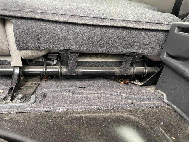 Mua cua về ăn, chủ xe hơi tái mặt khi nhìn hình ảnh cả đội bò lồm ngồm, ẩn náu trong xe - Ảnh 3.