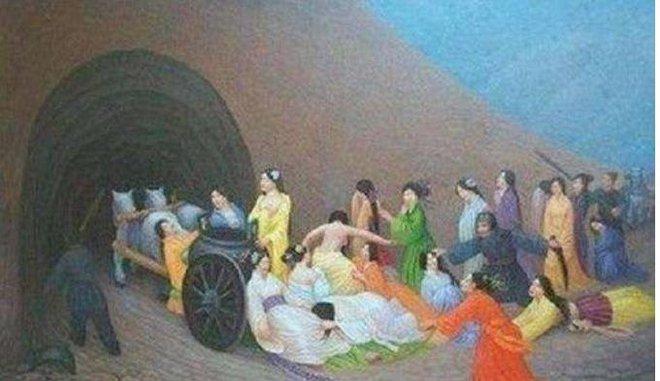 Mộ cổ Trung Quốc sau khi xây xong sẽ bịt kín, chôn sống luôn thợ xây: Mánh khóe nào giúp người này thoát khỏi tử huyệt? - Ảnh 1.