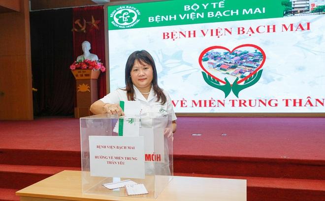 Chủ tịch công đoàn Bệnh viện Bạch Mai: Bệnh viện chưa từng nợ lương nhân viên - Ảnh 1.