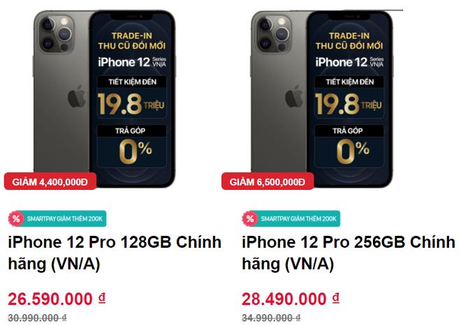 Giá iPhone 12 Pro Max giảm mạnh, về mức thấp chưa từng - Ảnh 1.