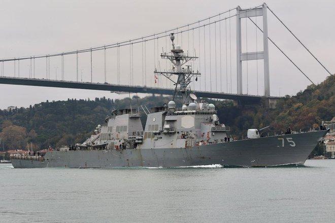 Sợ hãi Gấu Nga sẽ nổi giận, Mỹ quyết định hủy bỏ kế hoạch đưa tàu chiến tới Biển Đen - Ảnh 1.
