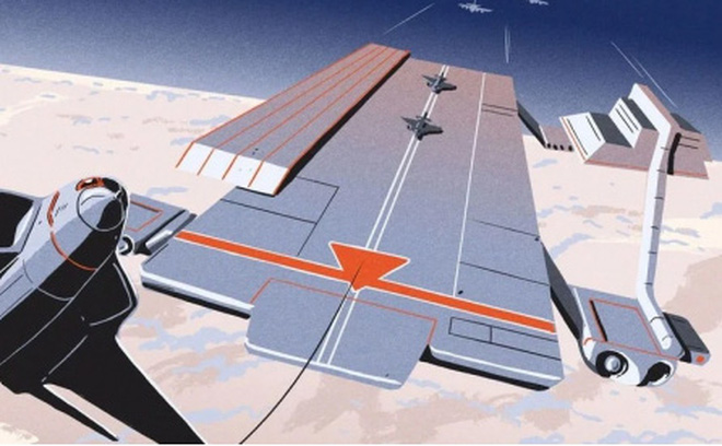 """Hàng không mẫu hạm bay: Ý tưởng """"điên rồ"""" hay khả thi của Lầu Năm Góc?"""
