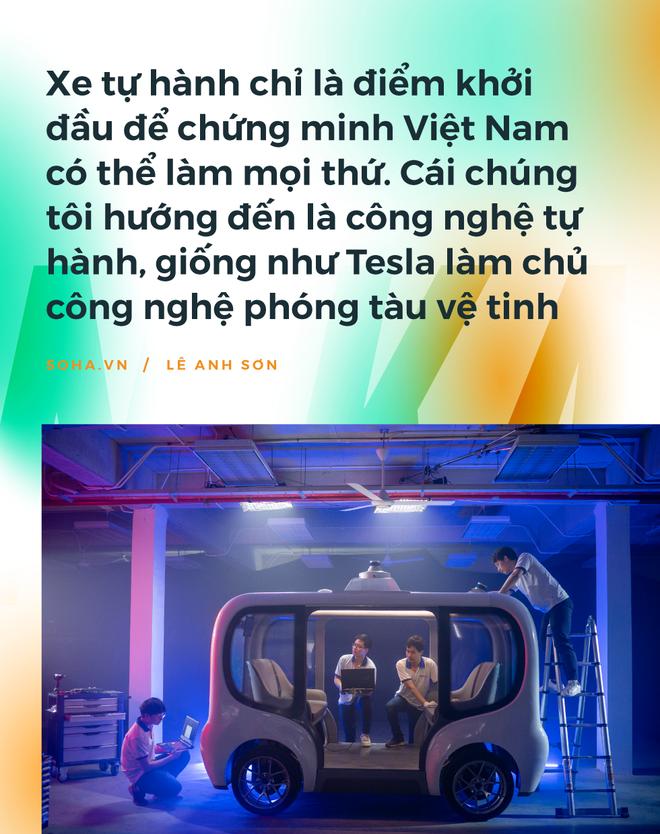 Chiếc xe tự lái Made in Vietnam đầu tiên: Sự điên rồ của những người không muốn sống một đời nhàm chán - Ảnh 6.