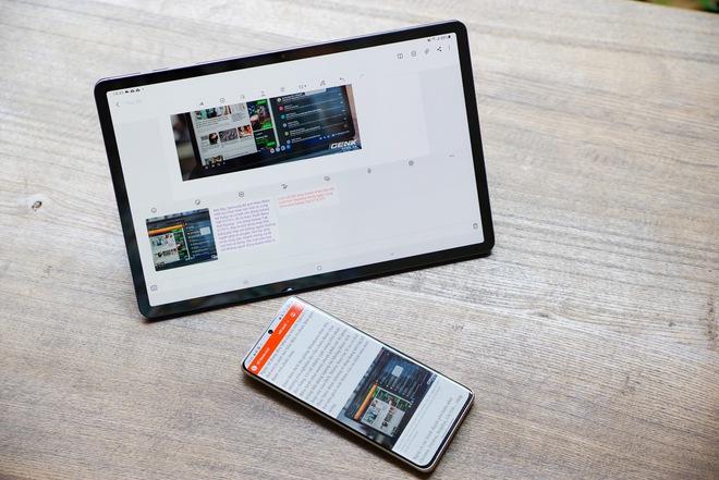 """Với OneUI 3.1, Galaxy Tab S7 ngày càng trở nên """"giống"""" một chiếc laptop cá nhân - Ảnh 1."""
