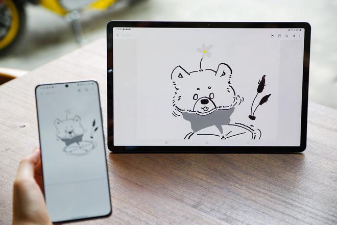 """Với OneUI 3.1, Galaxy Tab S7 ngày càng trở nên """"giống"""" một chiếc laptop cá nhân - Ảnh 6."""