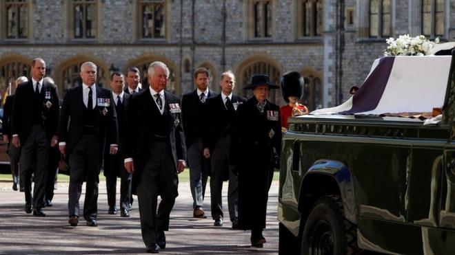 Nước Anh tiễn biệt Hoàng thân Philip - ảnh 1
