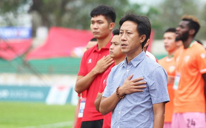 HLV Nguyễn Thành Công: 'Chiến thắng này giúp các cầu thủ giải tỏa tâm lý'