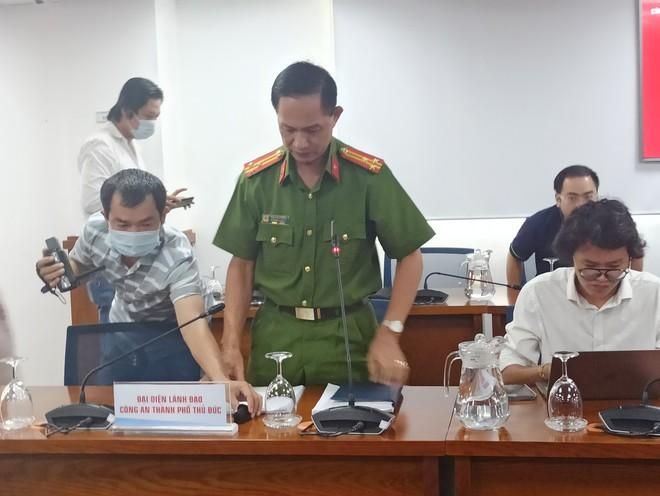 Công an TP.HCM: Lê Chí Thành chống người thi hành công vụ với thời gian trên 3 giờ đồng hồ - Ảnh 1.