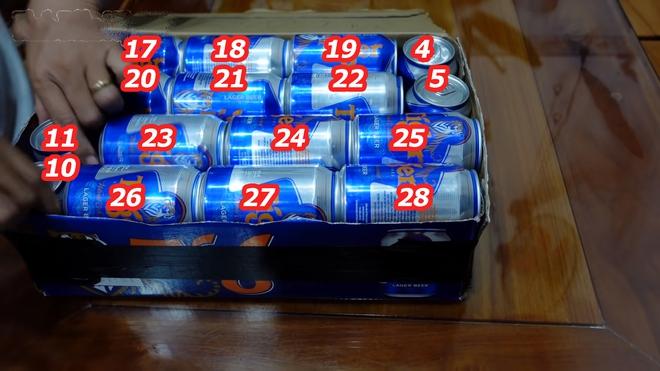 Làm thế nào xếp 28 lon bia vào thùng bia 24 lon? Tưởng không thể mà dễ không tưởng! - Ảnh 4.