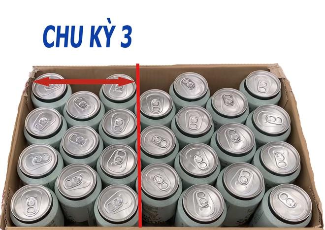 Làm thế nào xếp 25 lon bia vào thùng bia 24 lon? Tưởng không thể mà dễ không tưởng! - Ảnh 3.