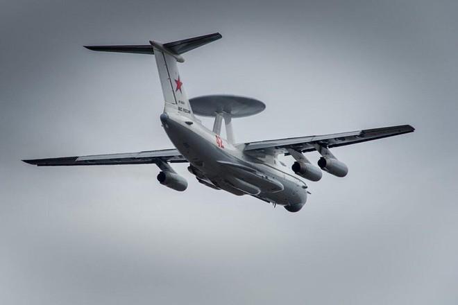 Hai chiếc mắt thần trên không A-50 của Nga theo dõi mọi động thái ở biên giới Ukraine - ảnh 1