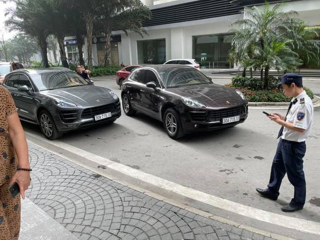 Vụ 2 xe sang Porsche cùng biển số: Đã xác định chiếc xe dùng biển số giả - Ảnh 1.