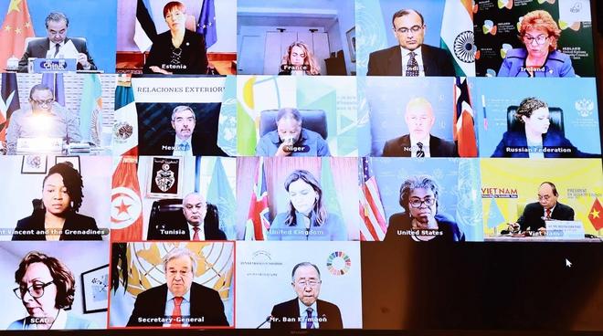 Chủ tịch nước phát biểu tại phiên thảo luận mở cấp cao của HĐBA LHQ - ảnh 1
