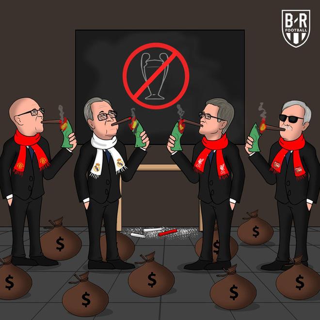 Góc hài hước: Bóng đá thế giới sẽ ra sao khi giải đấu 6 tỷ USD Super League khởi tranh? - Ảnh 5.