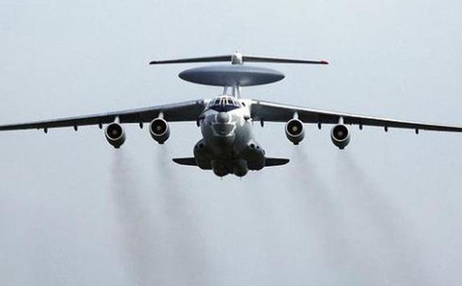 """Hai chiếc """"mắt thần trên không"""" A-50 của Nga theo dõi mọi động thái ở biên giới Ukraine"""