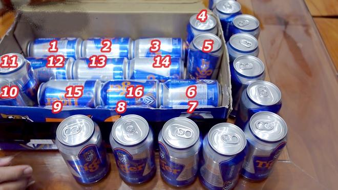 Làm thế nào xếp 28 lon bia vào thùng bia 24 lon? Tưởng không thể mà dễ không tưởng! - Ảnh 3.