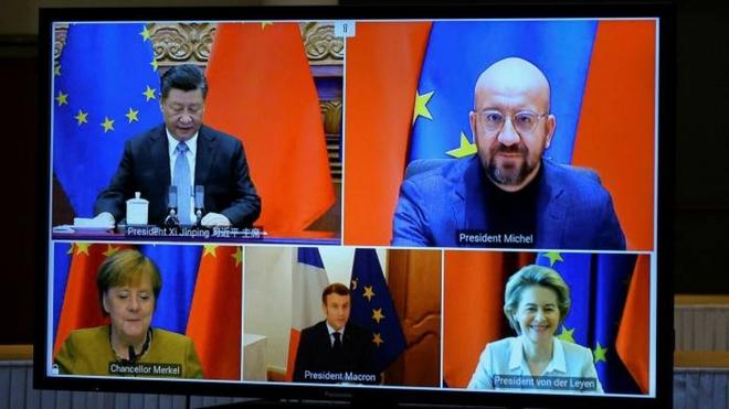 Bị đáp trả ngoài dự kiến, châu Âu tính lại chiến lược với Trung Quốc - Ảnh 1.