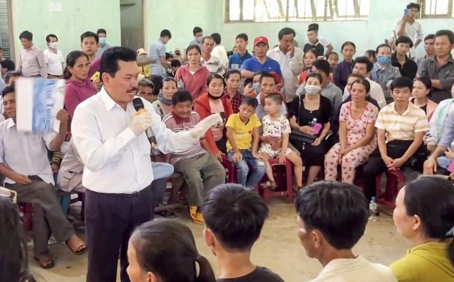 Ông Võ Hoàng Yên chữa cho 776 người và không ai khỏi bệnh, Quảng Ngãi thu hồi 200 triệu tiền ăn ở, vé máy bay