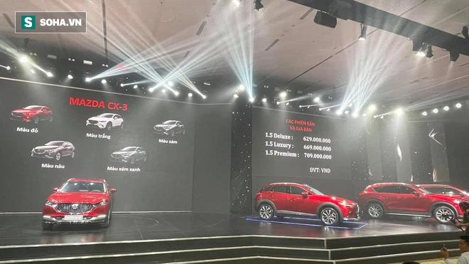 Giá Mazda CX-3 và CX-30 chính thức công bố, hơn 1.300 đơn đặt sớm - Ảnh 1.