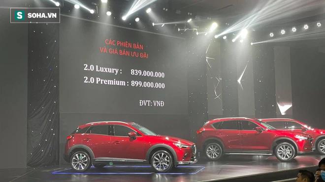 Giá Mazda CX-3 và CX-30 chính thức công bố, hơn 1.300 đơn đặt sớm - Ảnh 2.