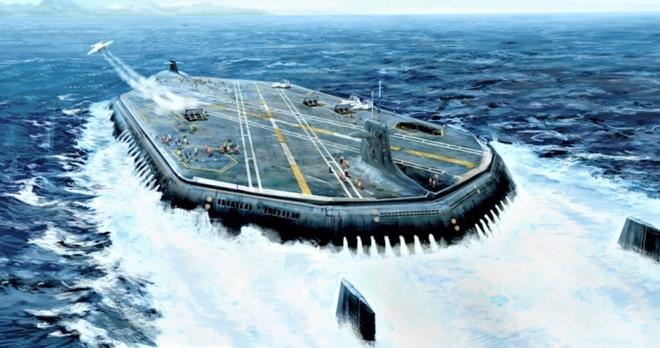Tàu sân bay ngầm: Ý tưởng hoàn toàn khả thi - Ảnh 6.