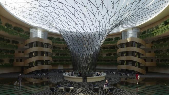 Khách sạn nổi xoay 360 độ tự cung ứng điện - Ảnh 5.