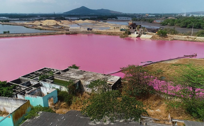 Vụ đầm nước chuyển màu hồng tím ở Bà Rịa - Vũng Tàu: Đề xuất nghiên cứu sâu để khai thác du lịch