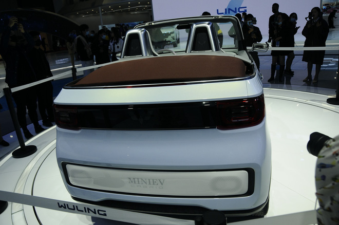 Cận cảnh chiếc ô tô điện siêu nhỏ, siêu dễ thương và giá cực rẻ, chỉ ngang ngửa Honda SH - Ảnh 4.