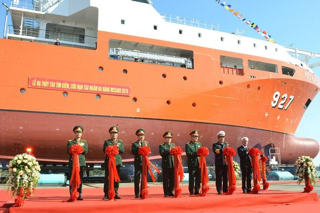 Hải quân Việt Nam là một trong số ít quốc gia sở hữu tàu cứu hộ tàu ngầm hiện đại - Ảnh 2.