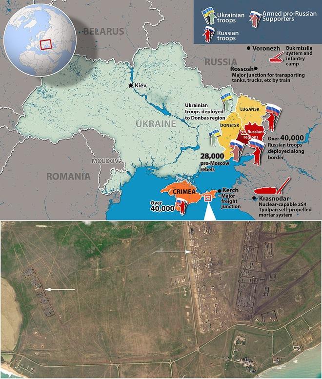 Vệ tinh tiết lộ bí mật của quân đội Nga ở Crimea khiến Ukraine đứng ngồi không yên - Ảnh 2.