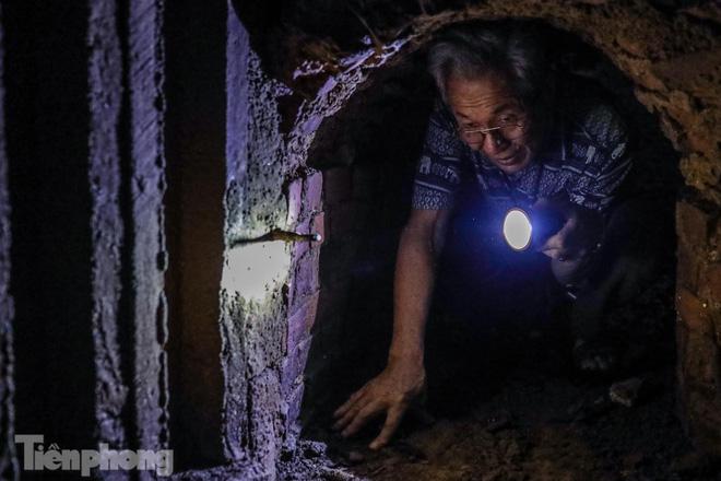 Khám phá địa đạo độc đáo giữa Hà Nội  - Ảnh 12.