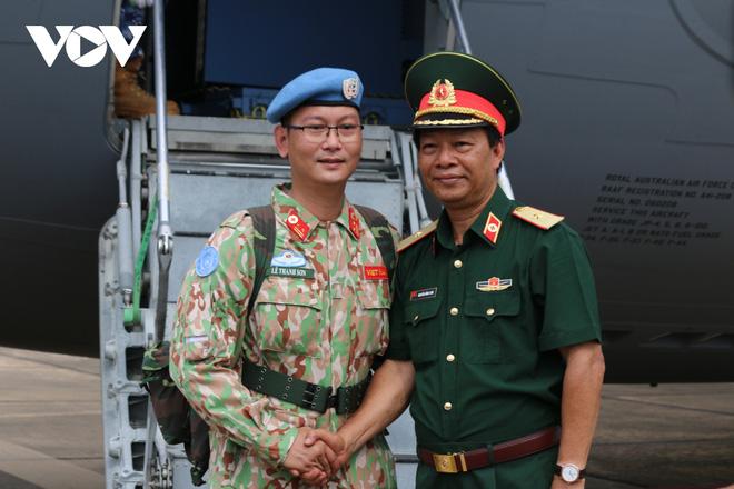 Thêm 24 quân nhân Việt Nam lên đường làm nhiệm vụ tại Nam Sudan - ảnh 3