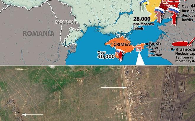 Vệ tinh tiết lộ bí mật của quân đội Nga ở Crimea khiến Ukraine đứng ngồi không yên