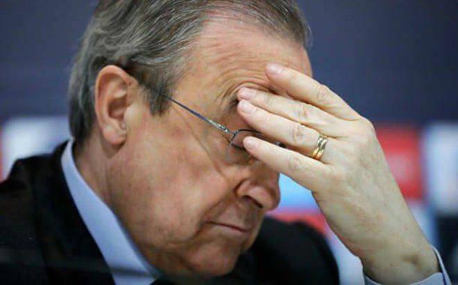 Florentino Perez nguy cơ phải từ chức chủ tịch Real Madrid