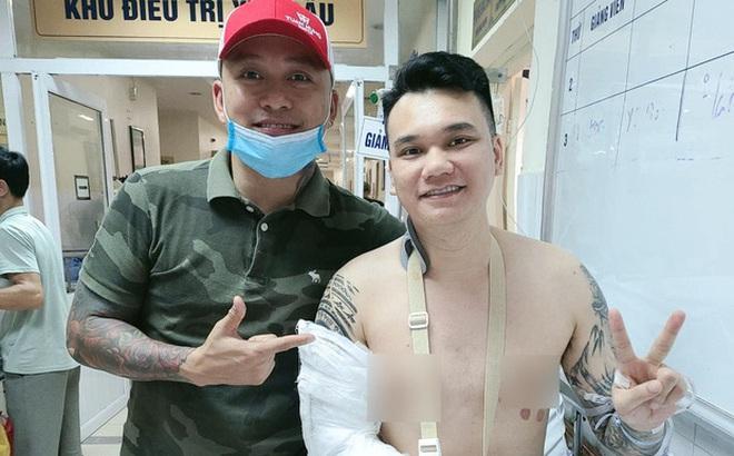 Tuấn Hưng tiết lộ tình trạng sức khoẻ của Khắc Việt, thông báo 1 điều thay đổi của nam ca sĩ hậu phẫu thuật vì tai nạn gãy xương