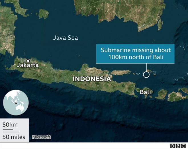 NÓNG: Lời thông báo ớn lạnh của Đô đốc Yudo Margono về tàu ngầm Indonesia mất tích - Ảnh 2.