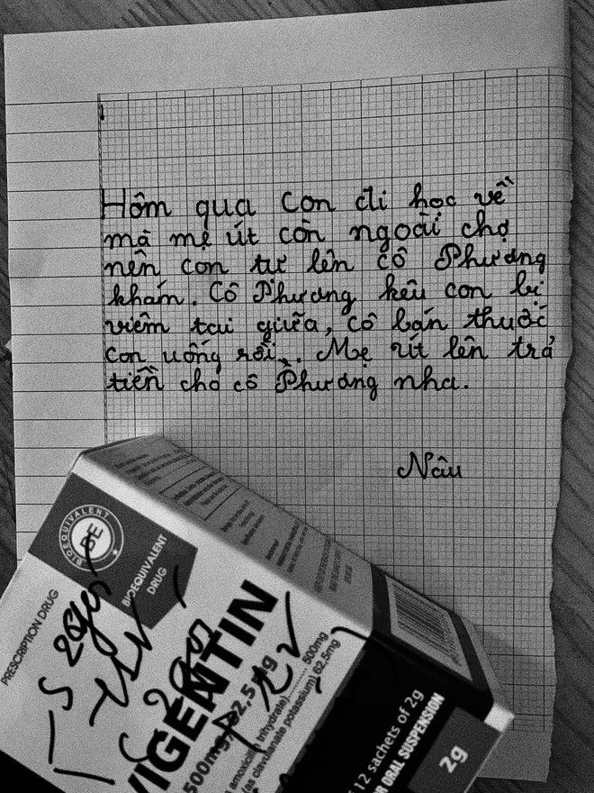 Mẹ nuôi 21 tuổi vượt qua trầm cảm nhờ lá thư của 2 con nhỏ: Nét chữ nguệch ngoạc trưởng thành sớm đầy xót xa - Ảnh 4.