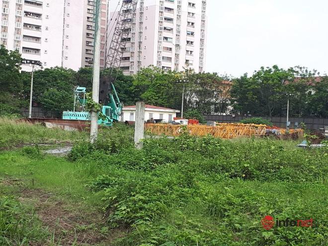 Sắp hết gia hạn, dự án ôm đất vàng của Công ty Long Giang vẫn um tùm cỏ giữa Hà Nội, liệu có bị thu hồi? - Ảnh 4.
